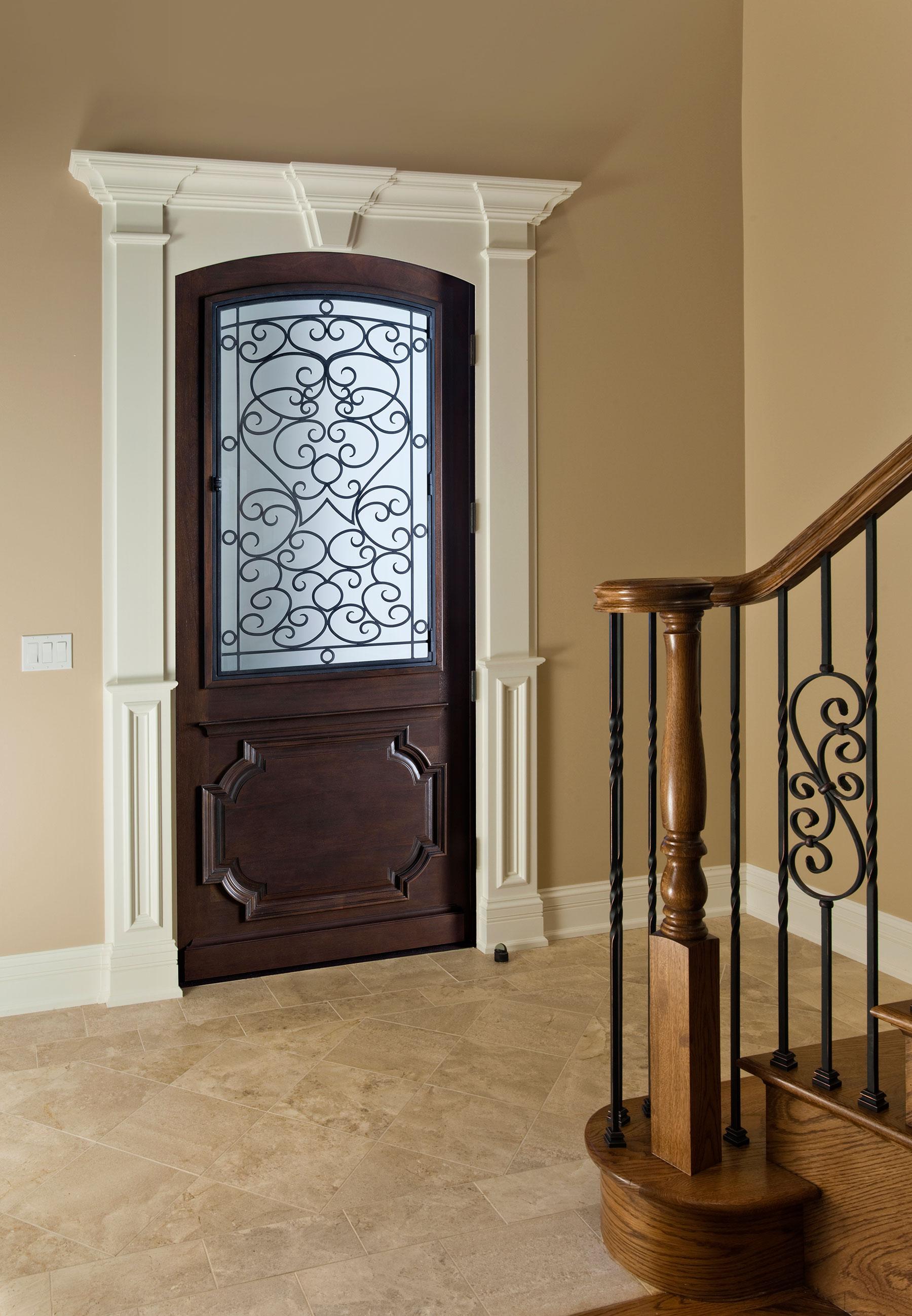 Custom Wood Front Entry Doors | Heritage Collection Custom Wood Front Entry Door DB-H003 F CST - Glenview Doors - Custom Doors in Chicago