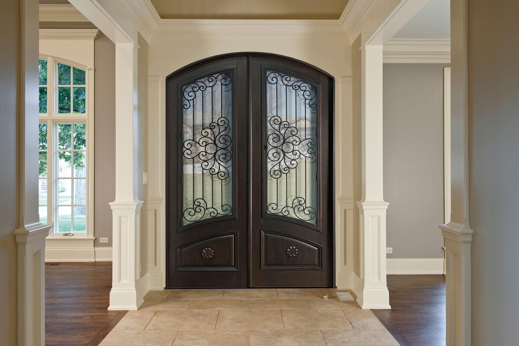 Custom Wood Front Entry Doors | Heritage Collection Custom Wood Front Entry Door DB-H005 DD F CST - Glenview Doors - Custom Doors in Chicago