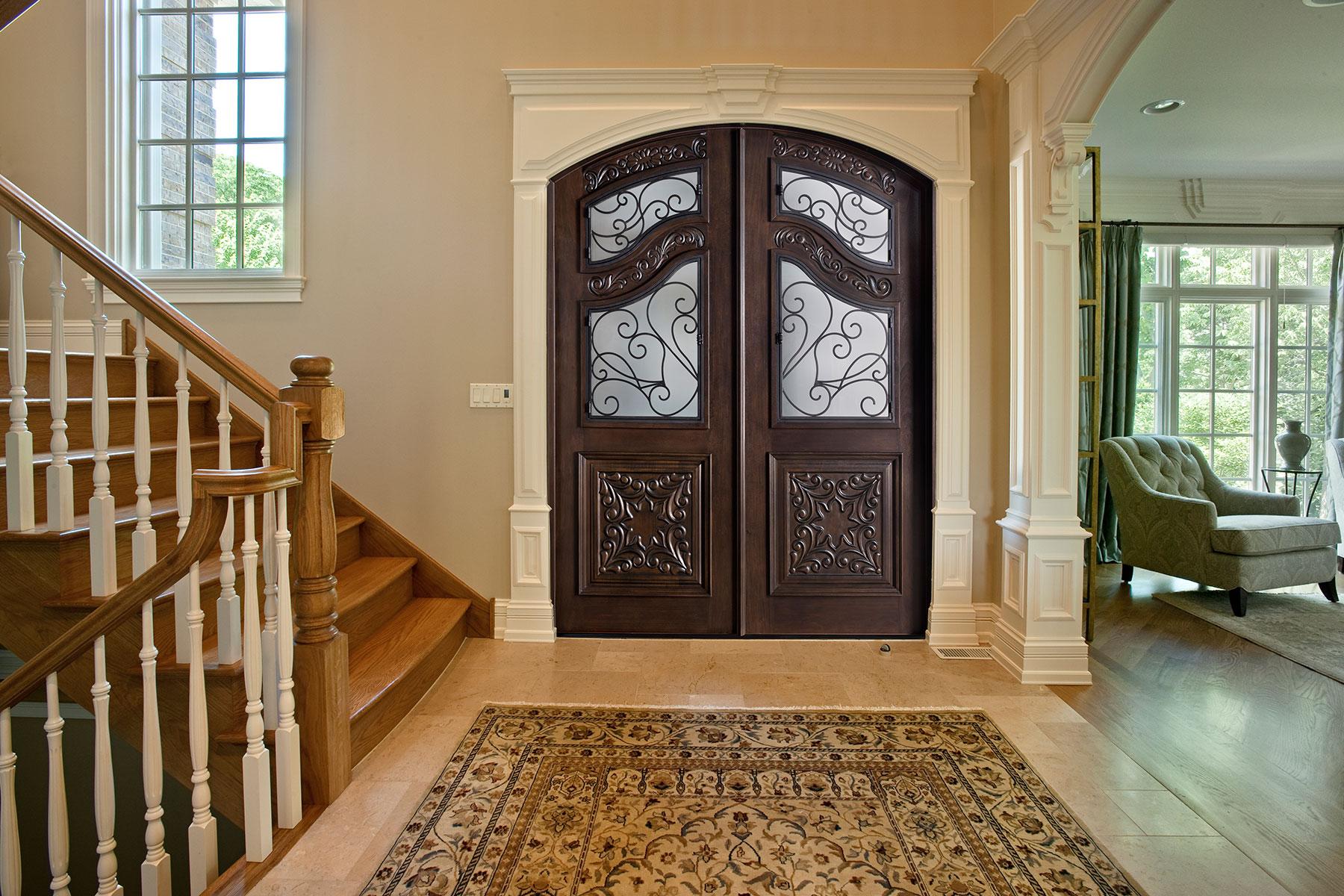 Custom Wood Front Entry Doors | Heritage Collection Custom Wood Front Entry Door DB-H009B DD S CST - Glenview Doors - Custom Doors in Chicago