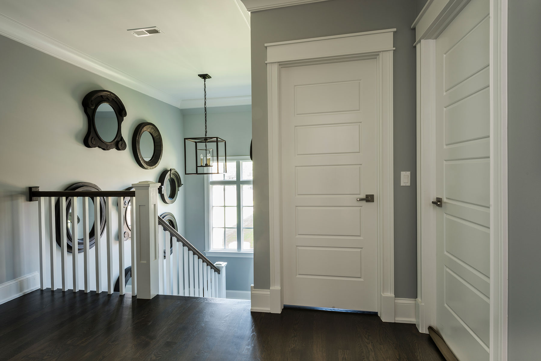 Solid Wood Entry Interior Doors Custom In Stock Modern