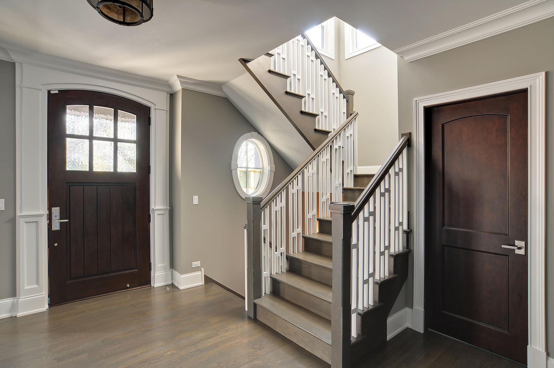 Custom Wood Interior Doors | Classic Collection Solid Wood Front Entry Door  - Glenview Doors - Custom Doors in Chicago