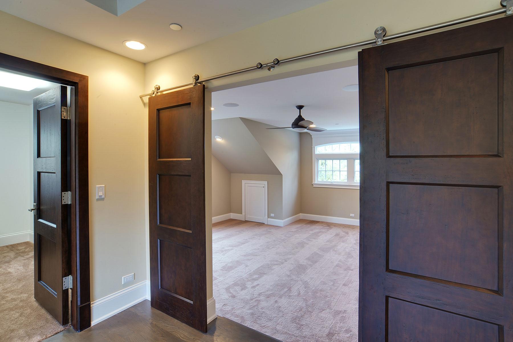 Custom Wood Interior Doors | Custom Classic Solid Wood Double Door - Barn Doors  - Glenview Doors - Custom Doors in Chicago
