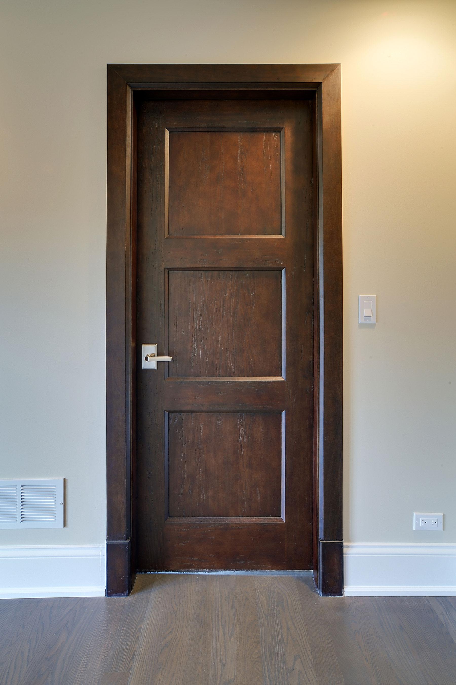 Custom Wood Interior Doors | Custom Classic Solid Wood Door - Closet Door  - Glenview Doors - Custom Doors in Chicago