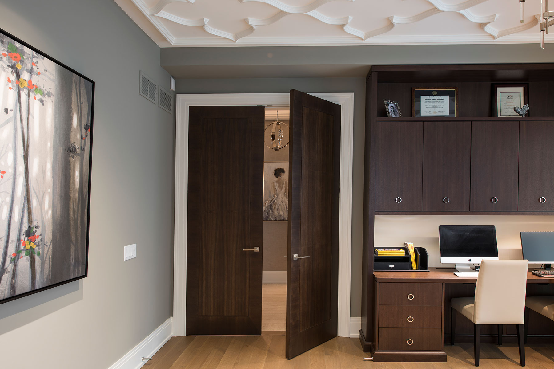 Custom Modern Interior Doors
