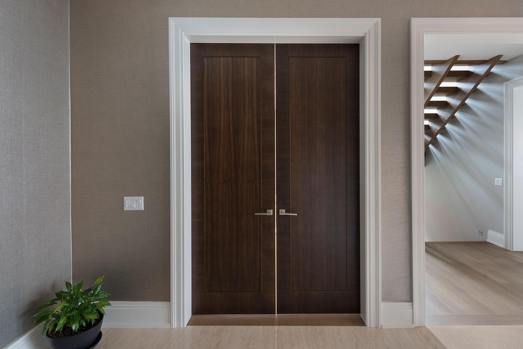 Custom Wood Interior Doors | Office Modern Door DBIM-MD1005  - Glenview Doors - Custom Doors in Chicago