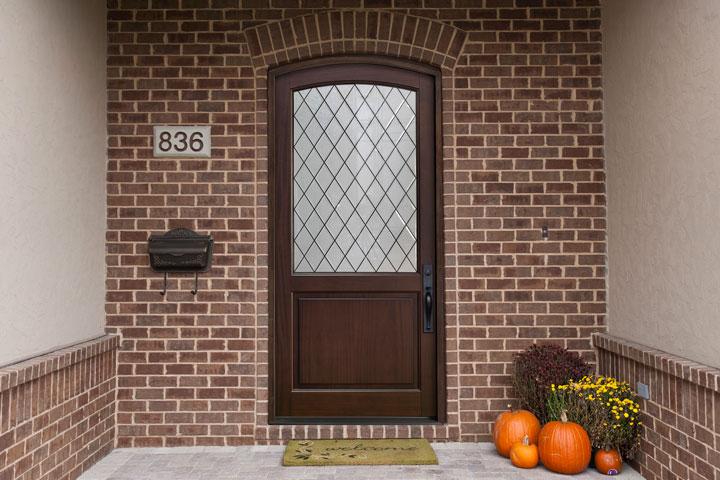 Classic Entry Door.  classic wood entry door, single DB-552PWDG