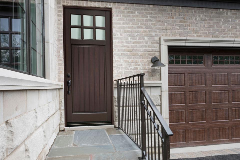 Classic Entry Door.  classic wood entry door, single DB-113PW
