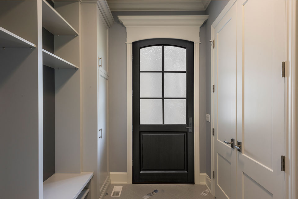 Classic Entry Door.  classic wood entry door, single DB-651PW