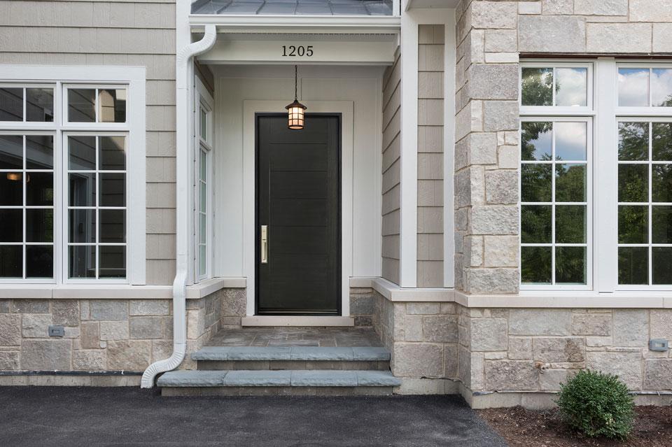 Modern Entry Door.  Modern Front Door DB-EMD-711W