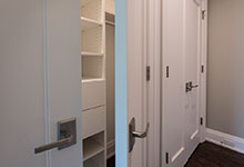Custom Wood Interior Doors - Closet Paint Grade Double Doors.