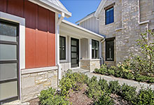 Custom Wood Front Entry Doors - Custom Single Mudroom Entry Door - Modern Style. DB-EMD-823 CST