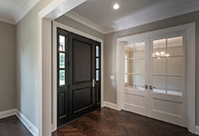 Wood Front Entry Doors in-Stock - Classic Solid Wood (Euro Technology) Front Entry Door . DB-301PW 2SL