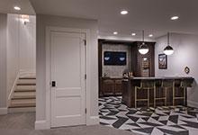 Custom Wood Interior Doors - Paint Grade Custom Interior Door, Solid.