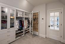Custom Wood Interior Doors - Paint Grade Custom Interior Door, Clear Glass.