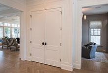 Custom Wood Interior Doors - Paint Grade Custom Interior Double Doors, Solid.