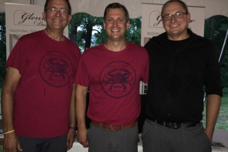 GR Mitchell 12th Annual Crab Feast 2018-08-17 Steve Mitchell Darek Tom Keller