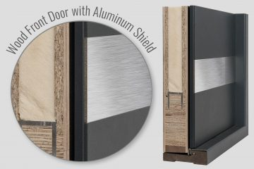 ALUMINUM SHIELD FRONT Doors
