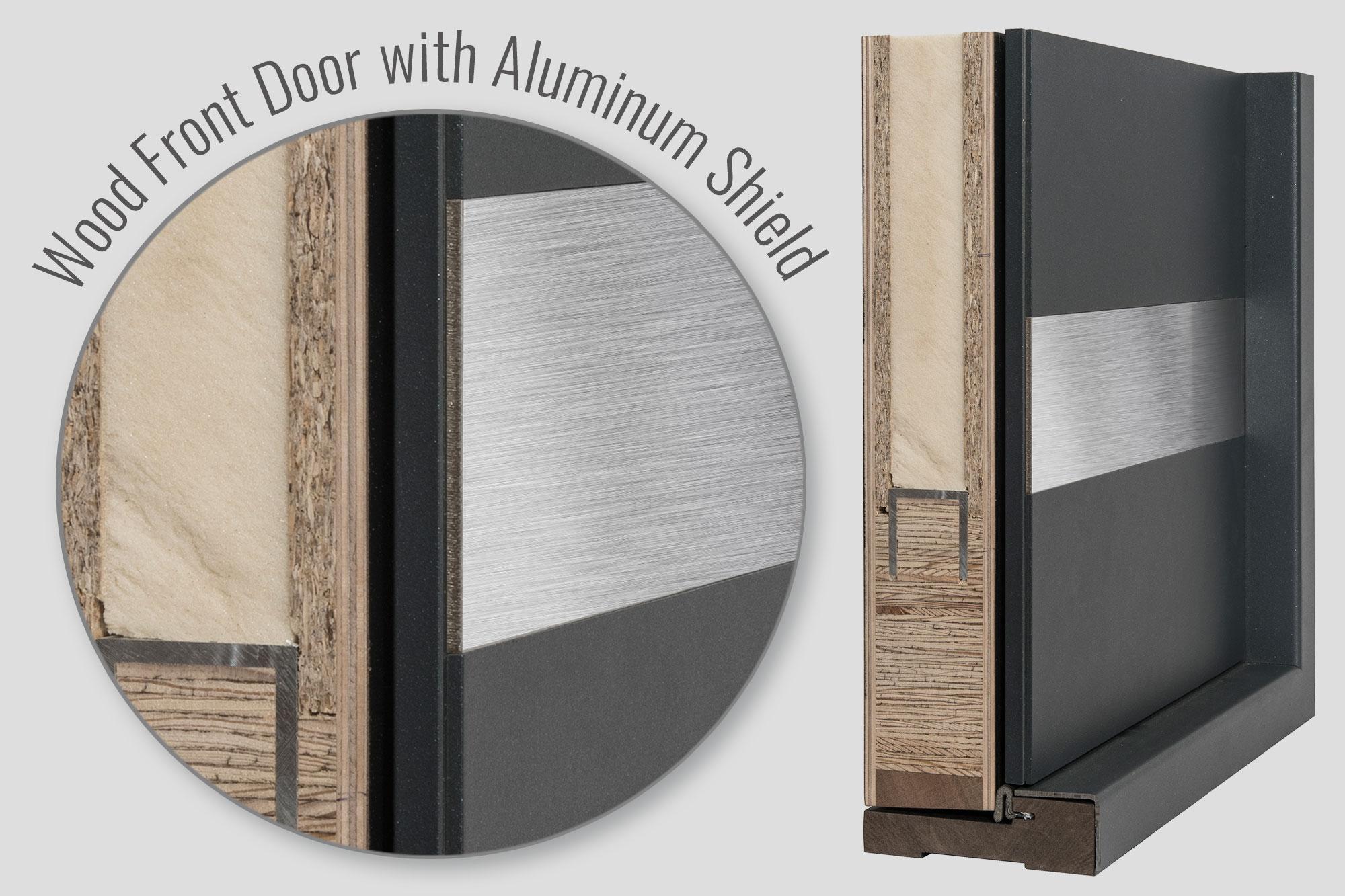 ALUMINUM SHIELD FRONT Doors